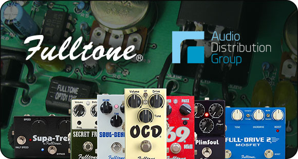 Audio Distribution Group and Filling Distribution announce Fulltone as new brand addition to their distribution alliance