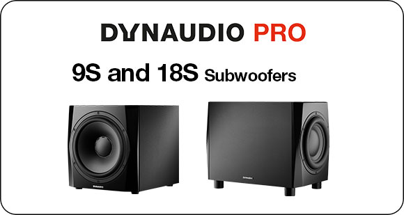 Dynaudio PRO launch 9S and 18S Subwoofers