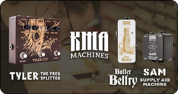 KMA Machines launch Tyler - The Freq Splitter, Belfry - Buffer and SAM - Supply Aid Machine