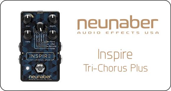 Neunaber Audio Effects launch Inspire - Tri-Chorus Plus