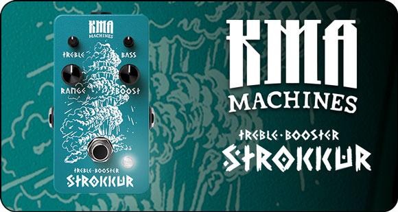 KMA Machines launch Stokkur - Treble Booster