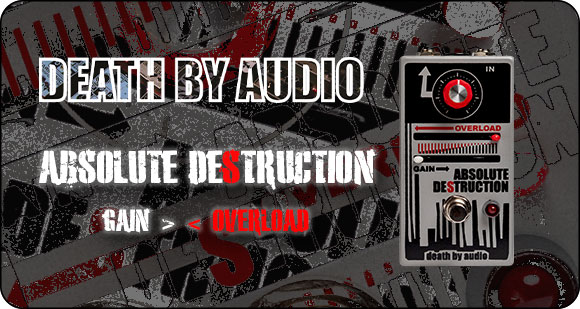 Death By Audio launch Absolute Destruction