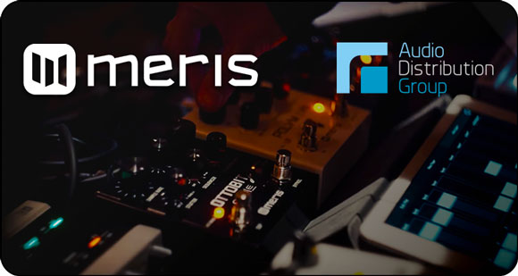 Audio Distribution Group announces the addition of Meris effects pedals and high-end studio equipment to their brand portfolio in the UK