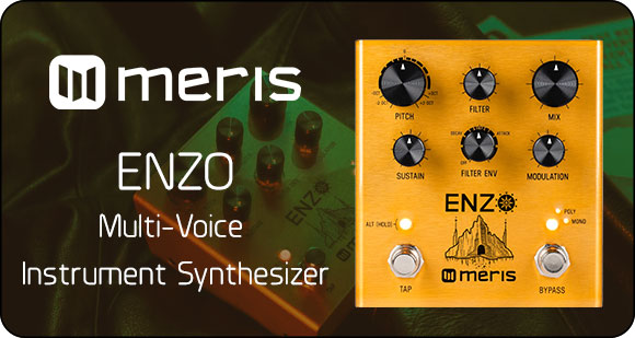 Meris launches Enzo - Multi-Voice Instrument Synthesizer