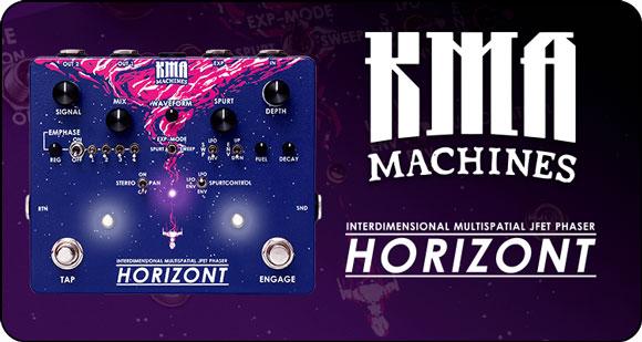KMA Machines launch HORIZONT - Interdeminsional Multispatial JFET Phaser