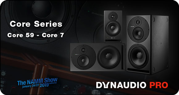 Dynaudio PRO launch Core Series Studio Monitors