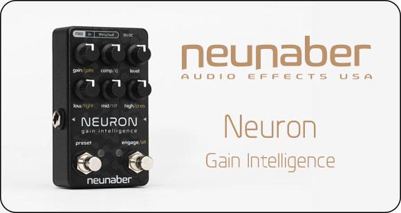 Neunaber Audio Effects launch Neuron - Gain Intelligence