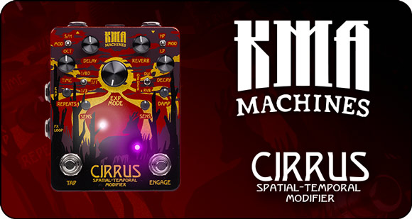 KMA Machines launch Cirrus – Spatial-Temporal Modifier