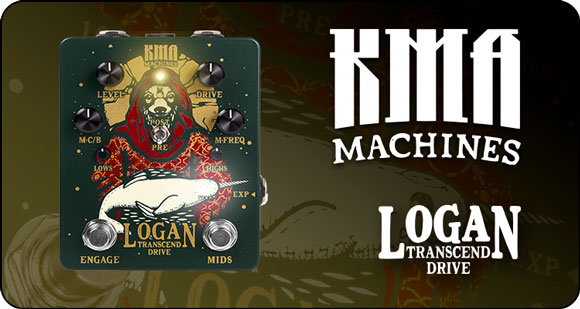 KMA Machines launch Logan – Transcend Drive