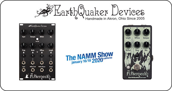 EarthQuaker Devices launch Afterneath V3 and Afterneath Eurorack Module