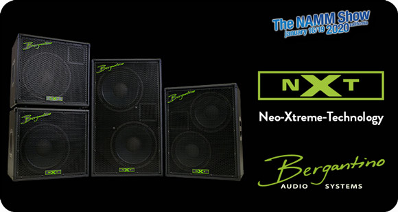 Bergantino Audio Systems launch NXT Series Bass Cabinets