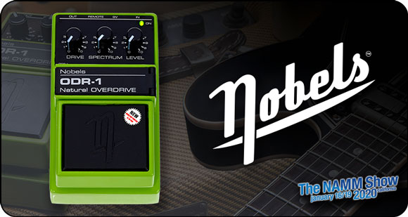 Nobels launch ODR-1BC - Natural Overdrive with Bass Cut