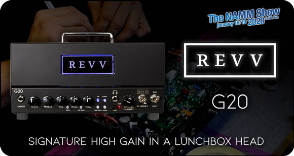 REVV Amplification launch G20 Lunchbox Amp