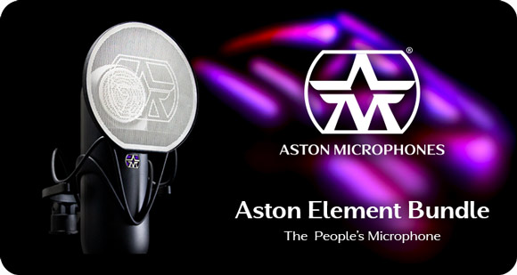 Aston Microphones launch Element Bundle - The People's Microphone