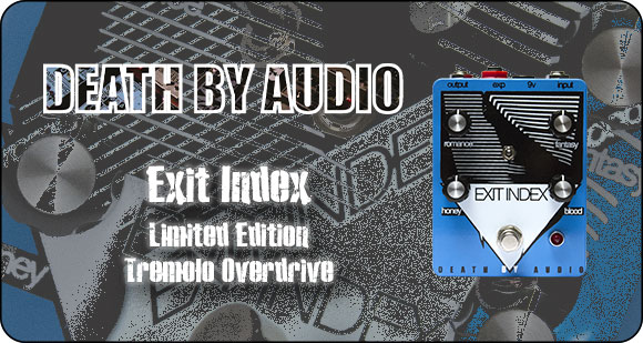 Death By Audio release Exit Index