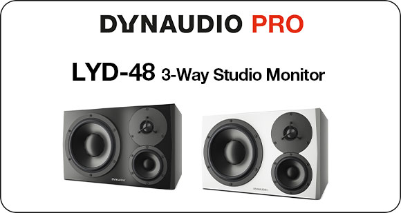 Dynaudio PRO launch LYD-48 - Three Way Studio Monitor