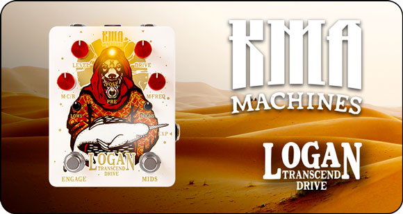 KMA Machines launch Logan Desert - Limited Edition Transcend Drive