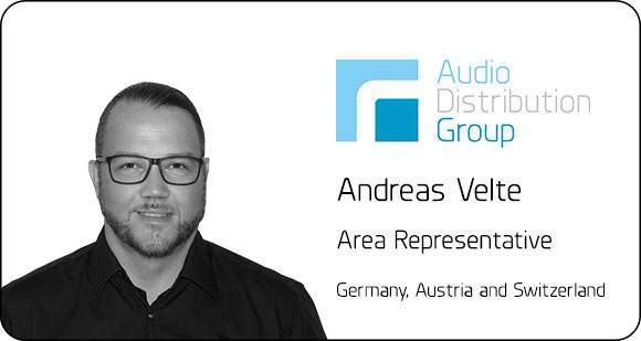 Andreas Velte joins ADG as Area Representative in Germany, Austria and Switzerland