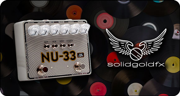 SolidGoldFX launches NU-33 - Vinyl Engine