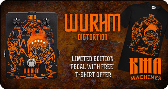 KMA Machines releases WURHM - Limited Edition HM Distortion