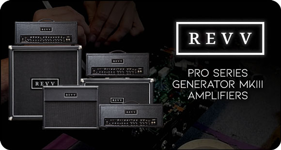 REVV Amplification launches Pro Series Generator MK III Amps