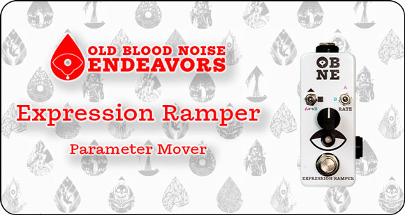 Old Blood Noise Endeavors launches Expression Ramper - Parameter Mover