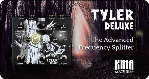 KMA Machines launches TYLER DELUXE - The Advanced Freq Splitter