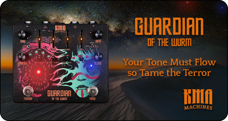 KMA Machines launches GUARDIAN of the WURM - Metal Distortion with easy-to-use Noise Gate