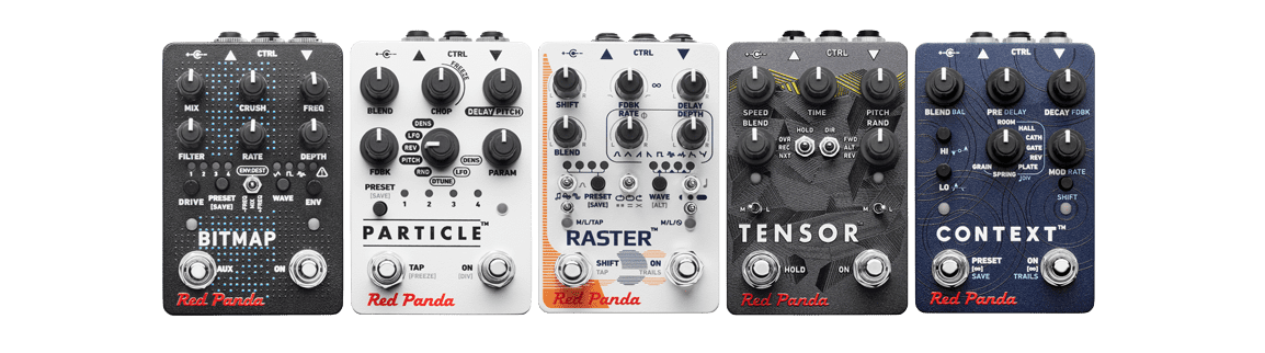 Red Panda Pedals